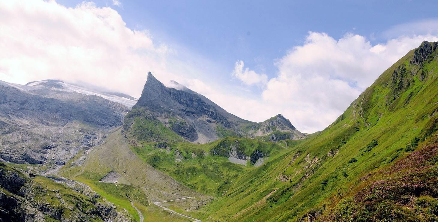 Berglandschaft im Sommer